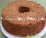 mountain apple pound cake