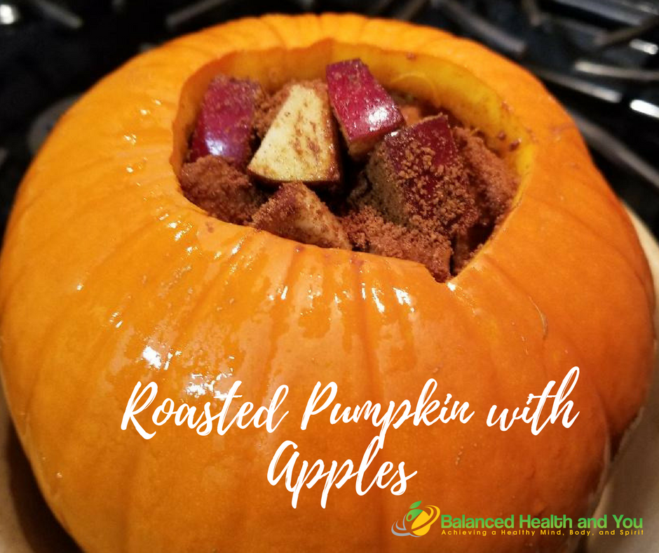 Roasted Pumpkin with Apples