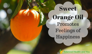 Sweet Orange Oil to Promote Happiness