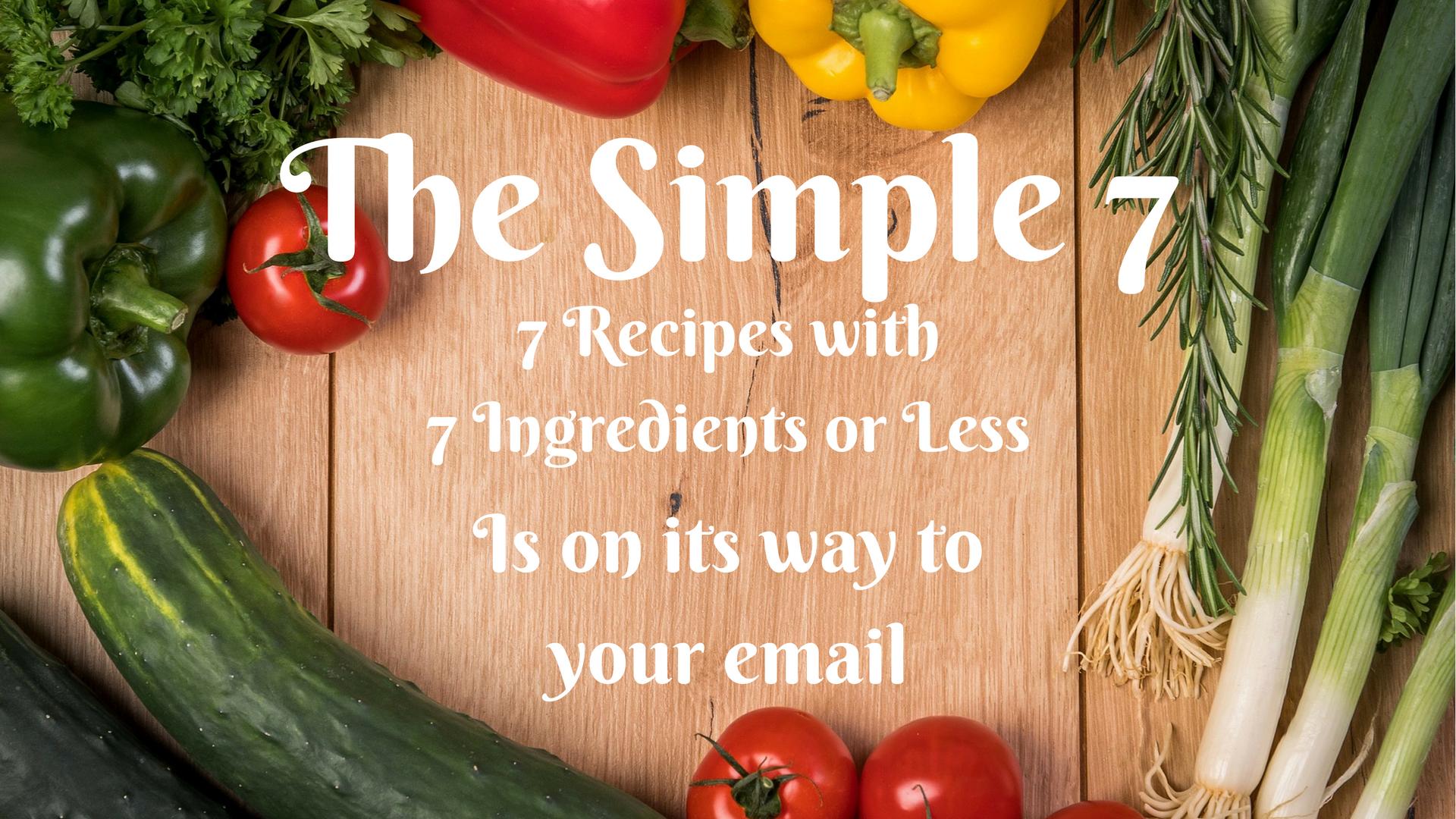 The Simple 7 Recipe eBook