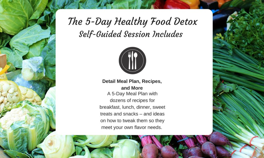 Self Guided Winter Healthy Food Detox
