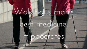 Walk for health at www.balancedhealthandyou.com