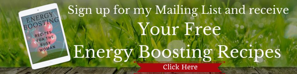 Energy Boosting Recipes