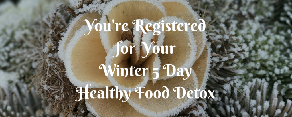 Winter 5 Day Detox Confirmation