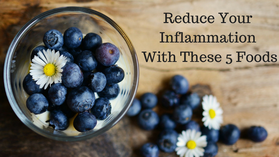 reduce inflammation with food