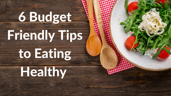 You can eat healthier on a budget.