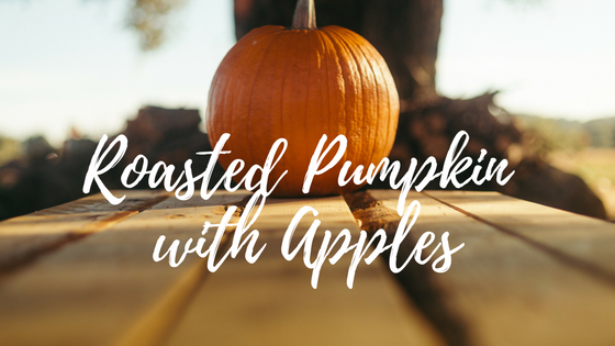 Roasted Pumpkin with Aplles