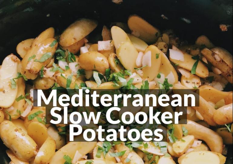 Mediterranean Potato Side Recipe