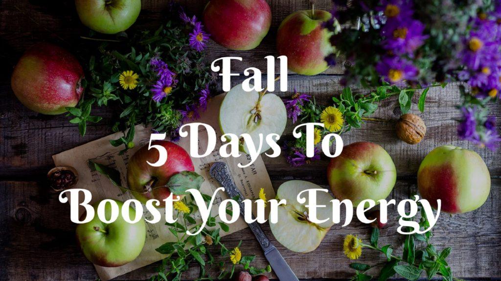 Fall 5 Day Detox