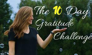 10 Day Gratitude Challenge