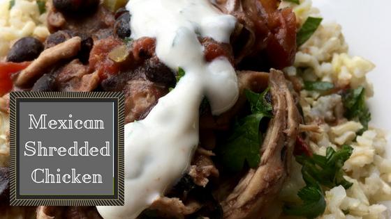 Crock-tober Mexican Shredded Chicken