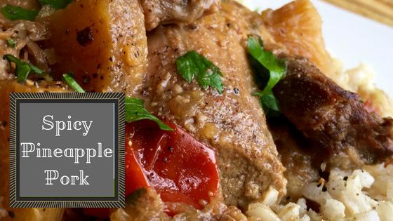 Crock-tober Spicy Pineapple Pork