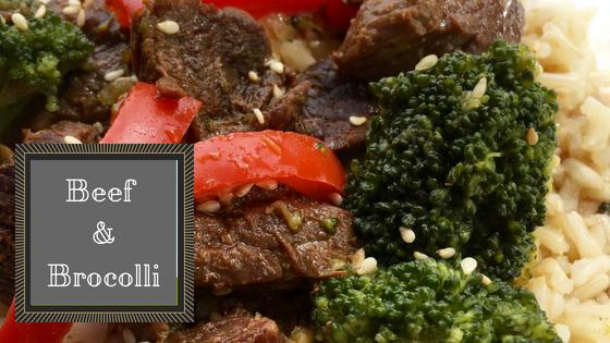 Croc-tober Beef and Broccoli