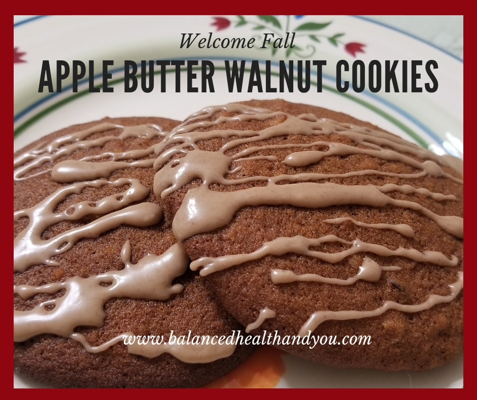 Apple Butter Walnut Cookies