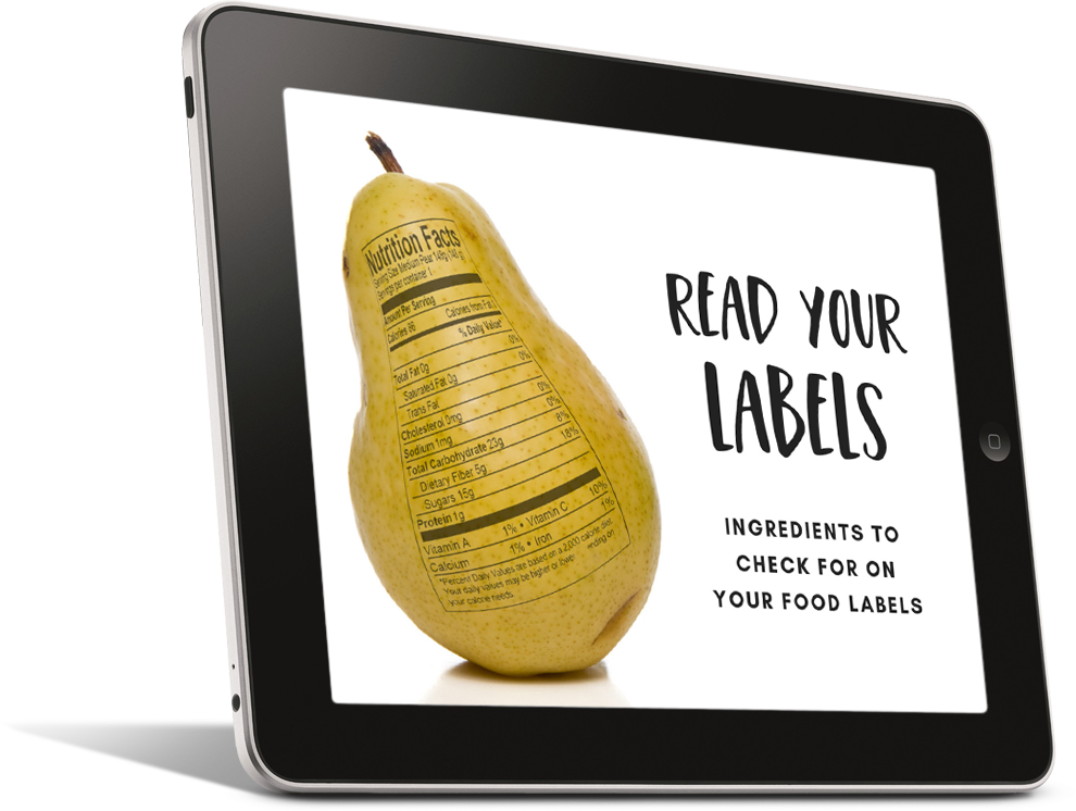 Read Your Food Labels