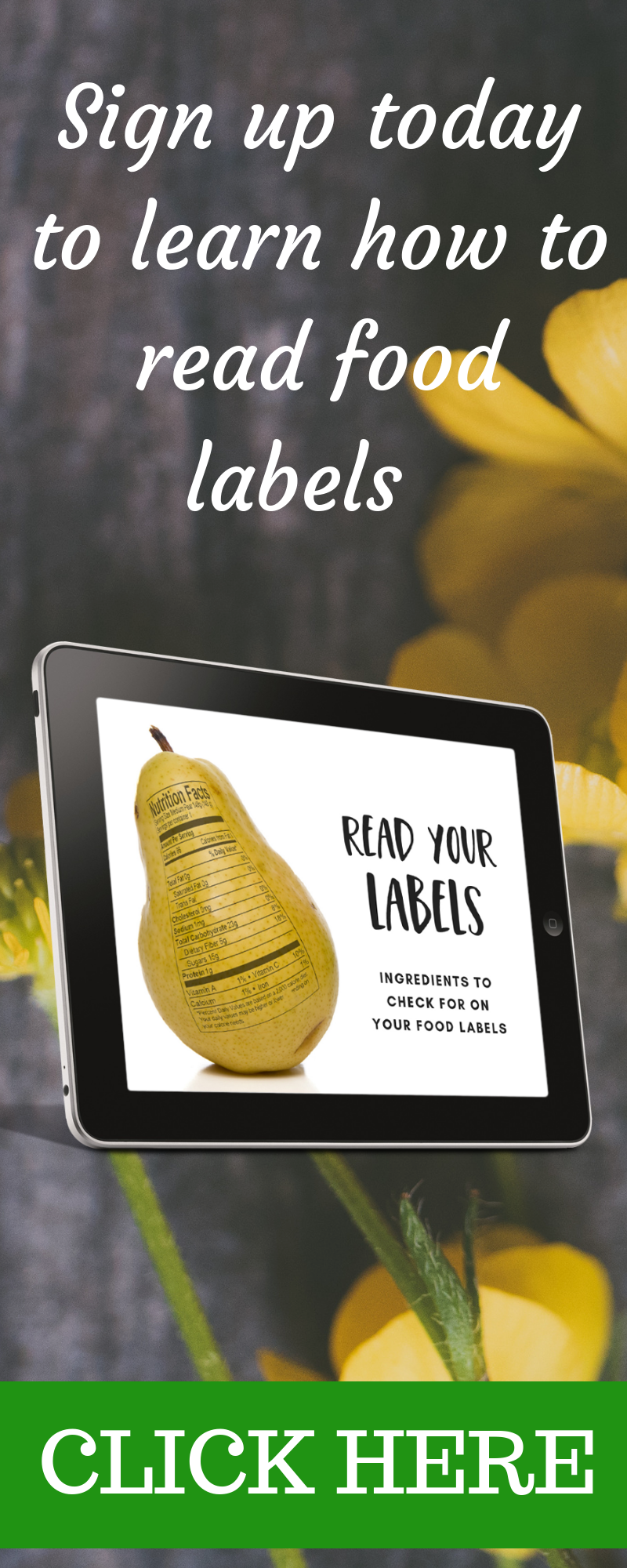 Read Your Labels