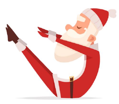 Santa Crunches