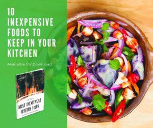 10 Inexpensive Healthy Foods