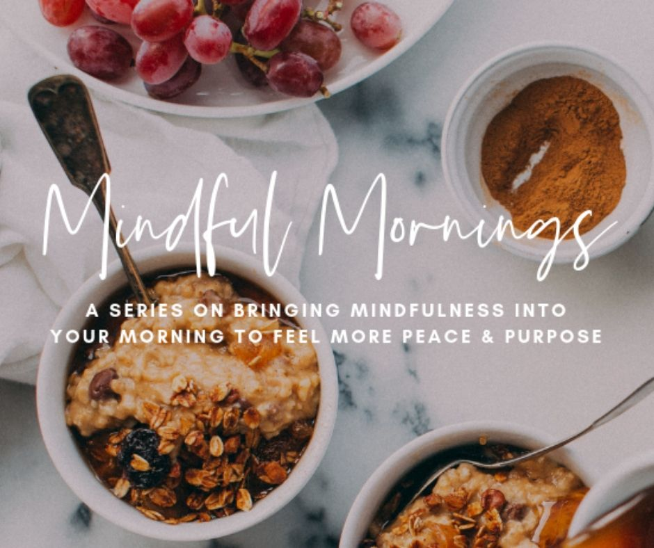 mindful mornings confirmation