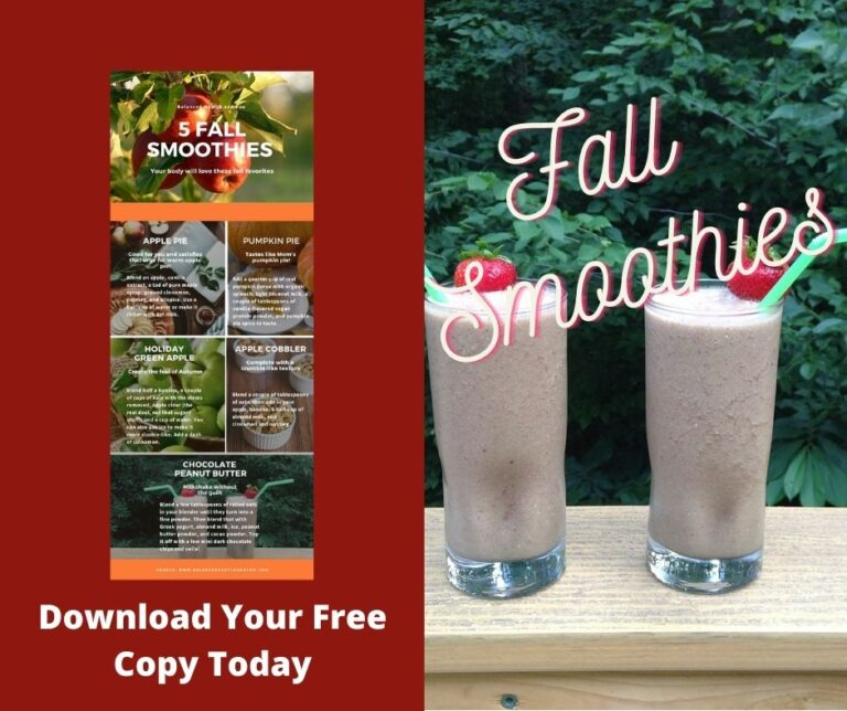 Fall Smoothies