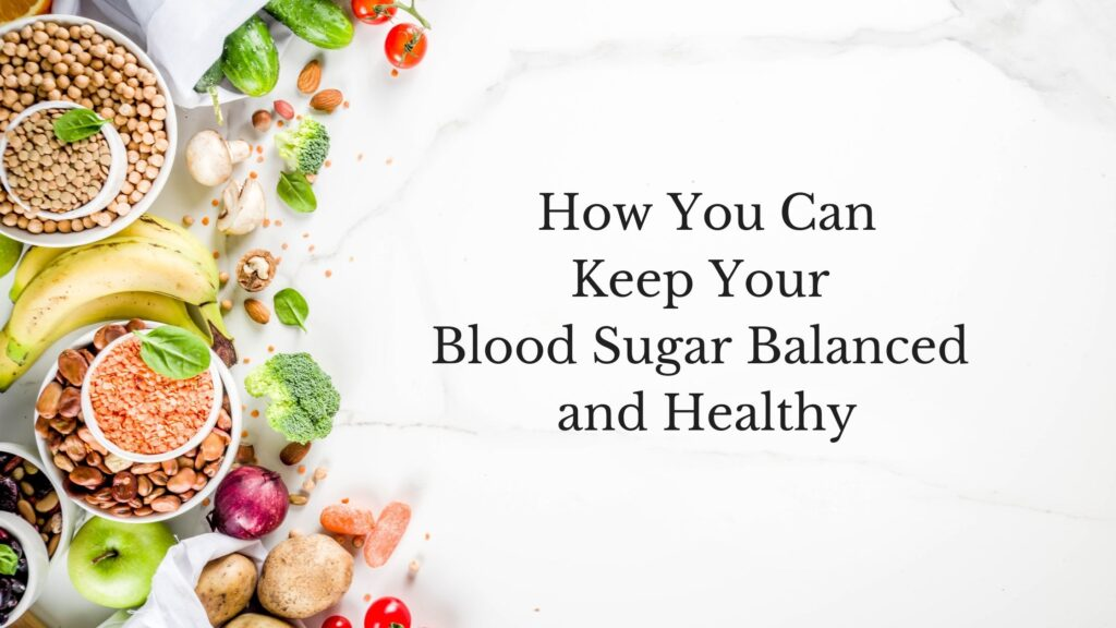 blood sugar balanced