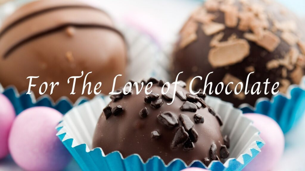 Blog Header - For the Love of Chocolate
