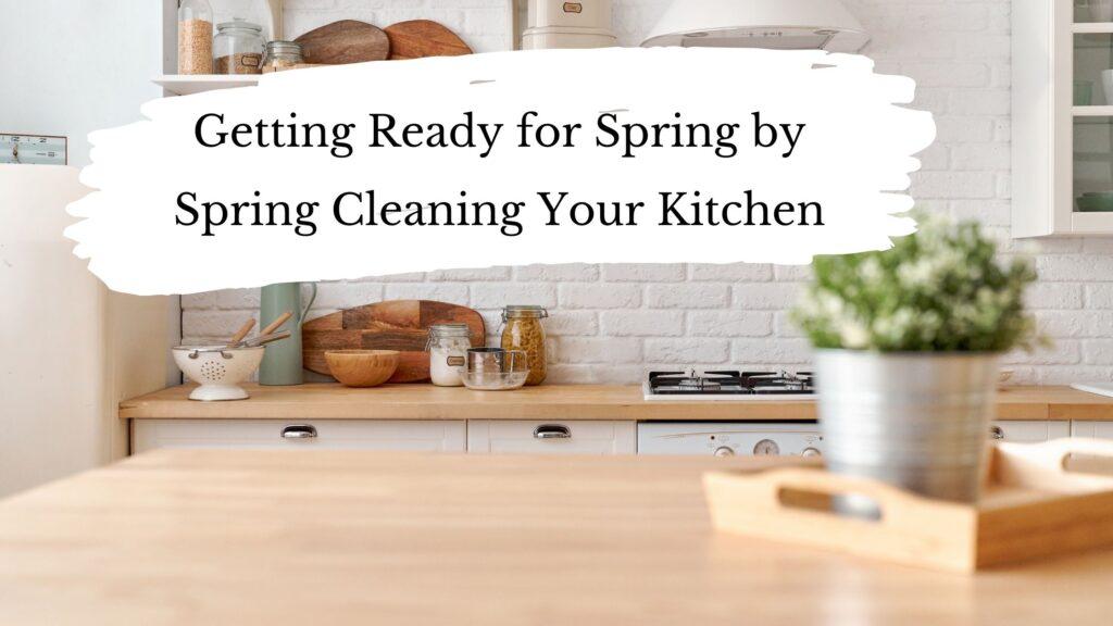 Spring Clean Your Kitchen