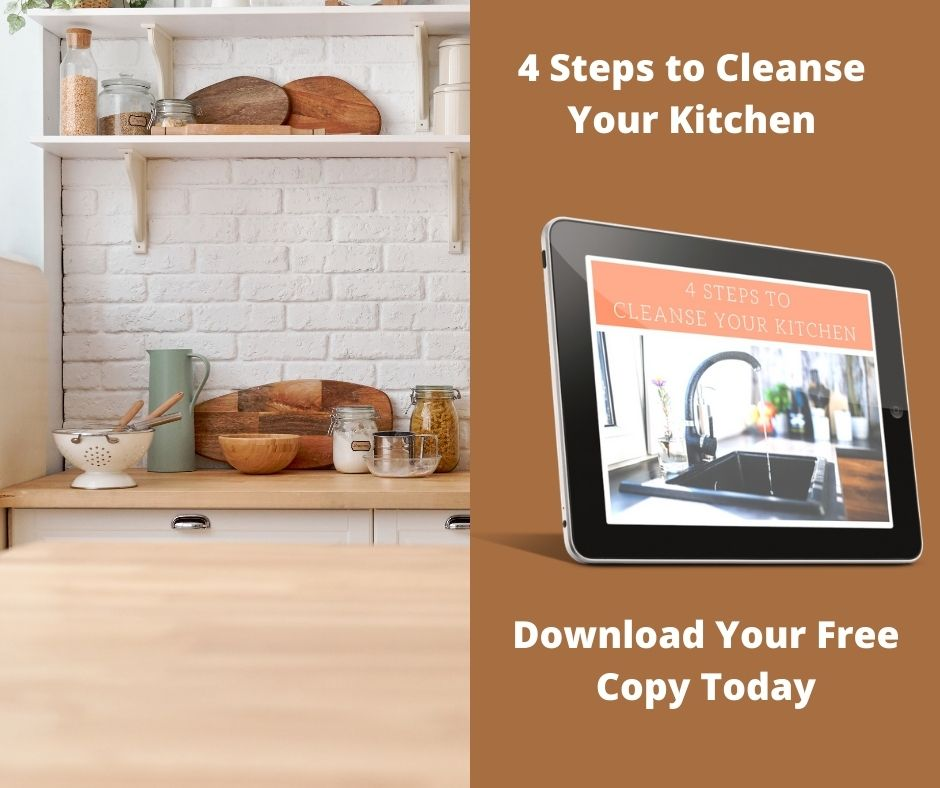 4 Steps to Cleanse Your Kitchen