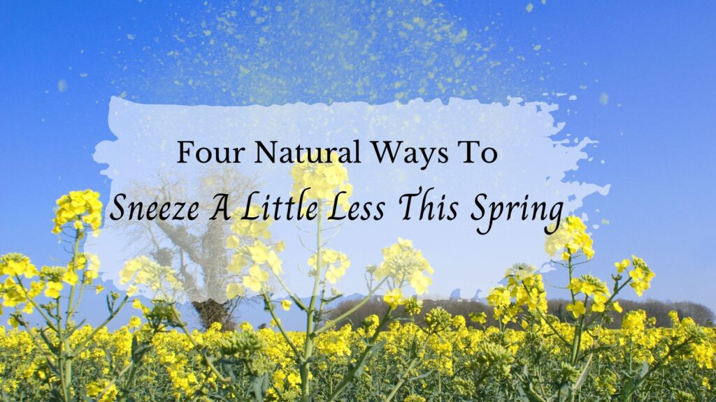 Natural Spring Allergy Relief