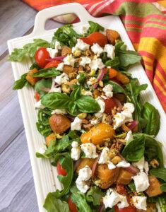 Summer Golden Beet Salad