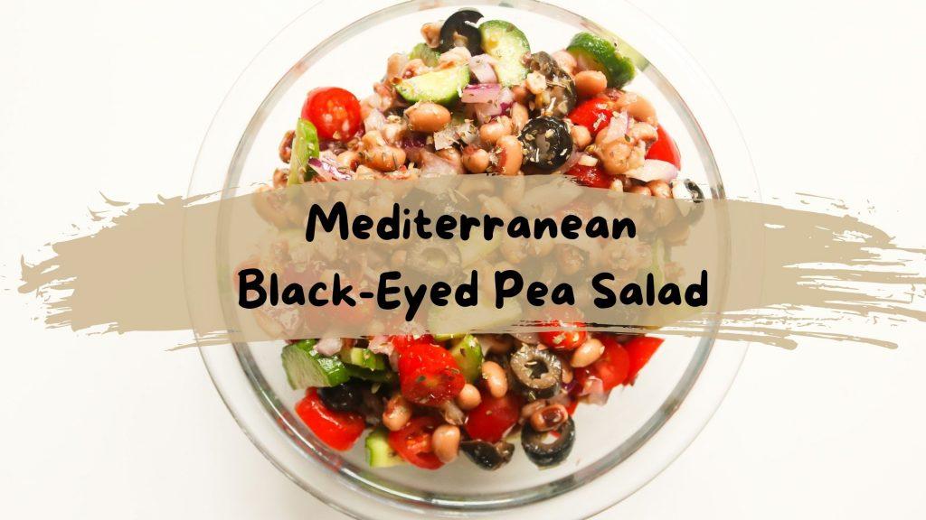 Recipe Mediterranean Black-Eyed Pea Salad