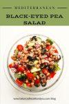 Mediterranean Black-Eyed Pea Salad