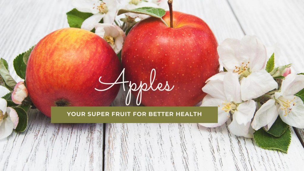 Apples for better health