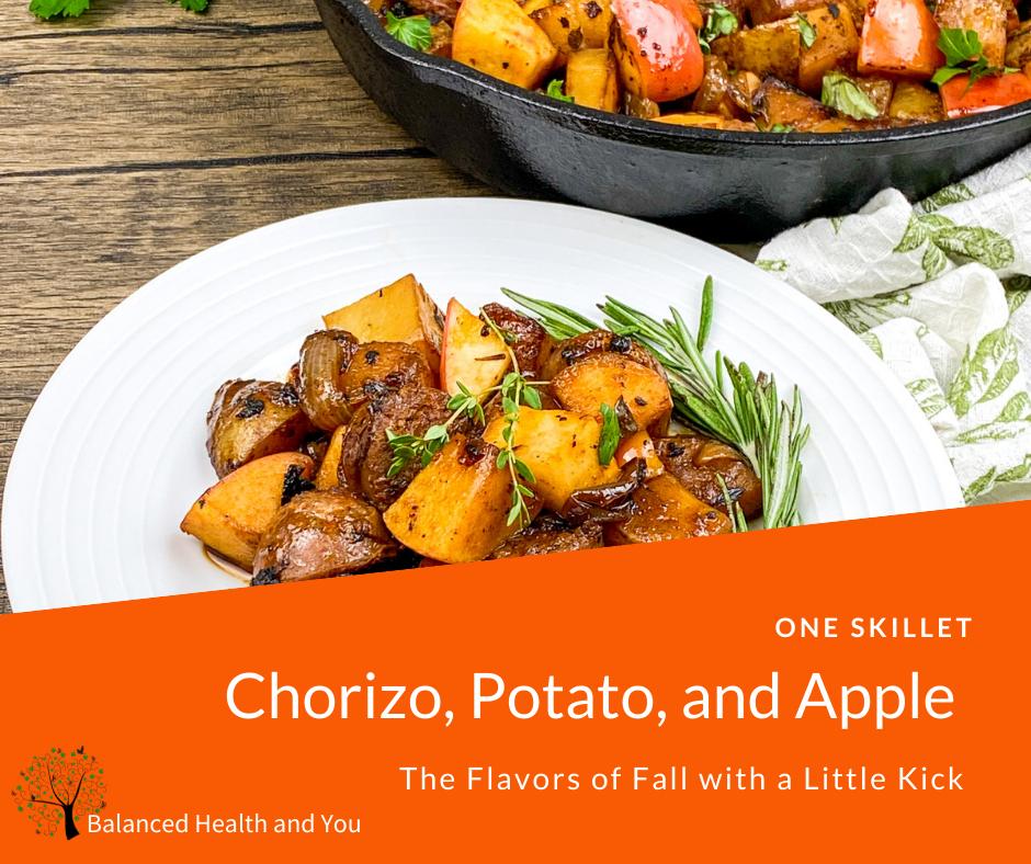 Recipe Chorizo Potato Apple